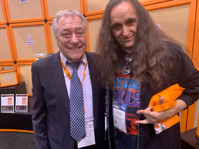 This is one of THE coolest dudes ever, the one and only Cliff Cooper (CEO of Orange Amps!)