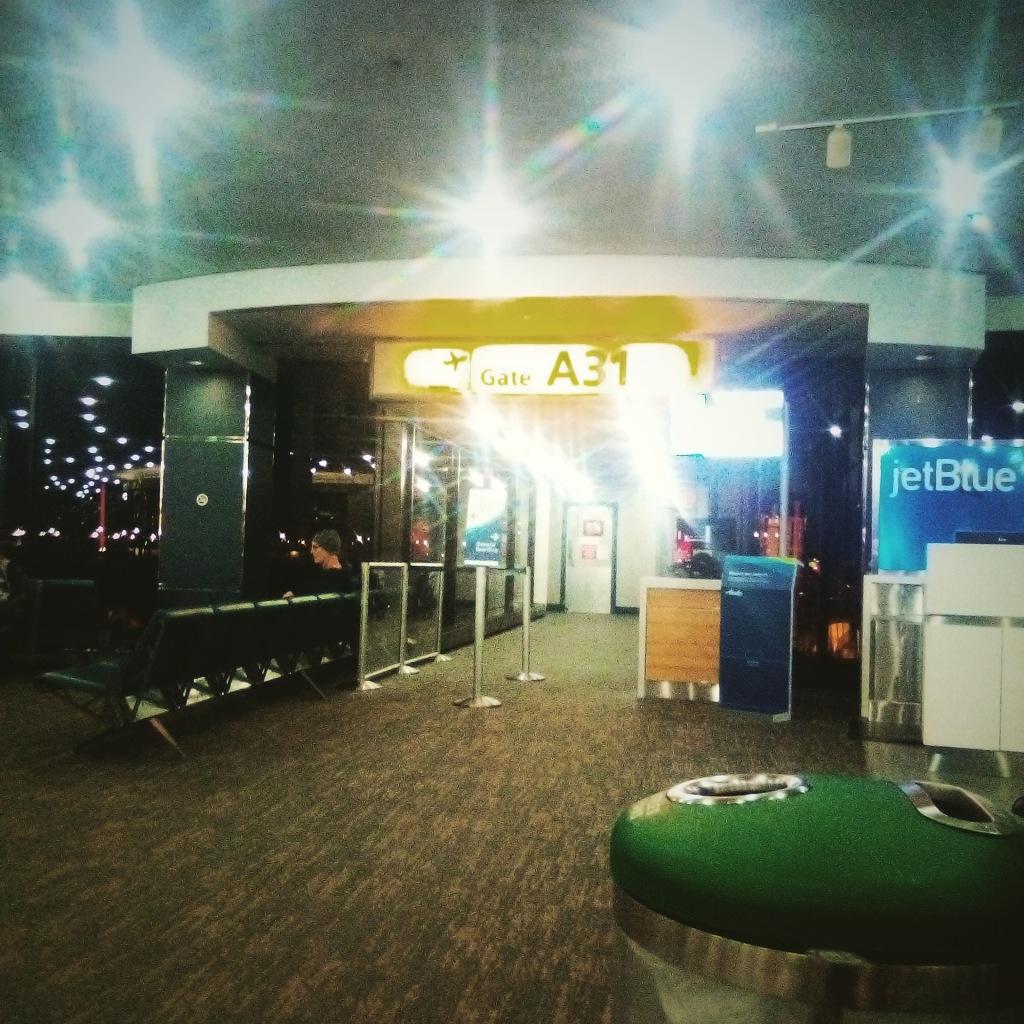 Newark Airport 5am...