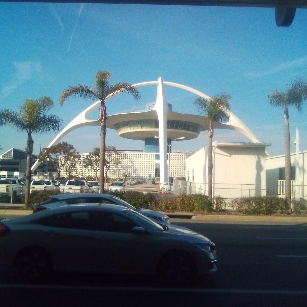 Landing in L.A.!!!