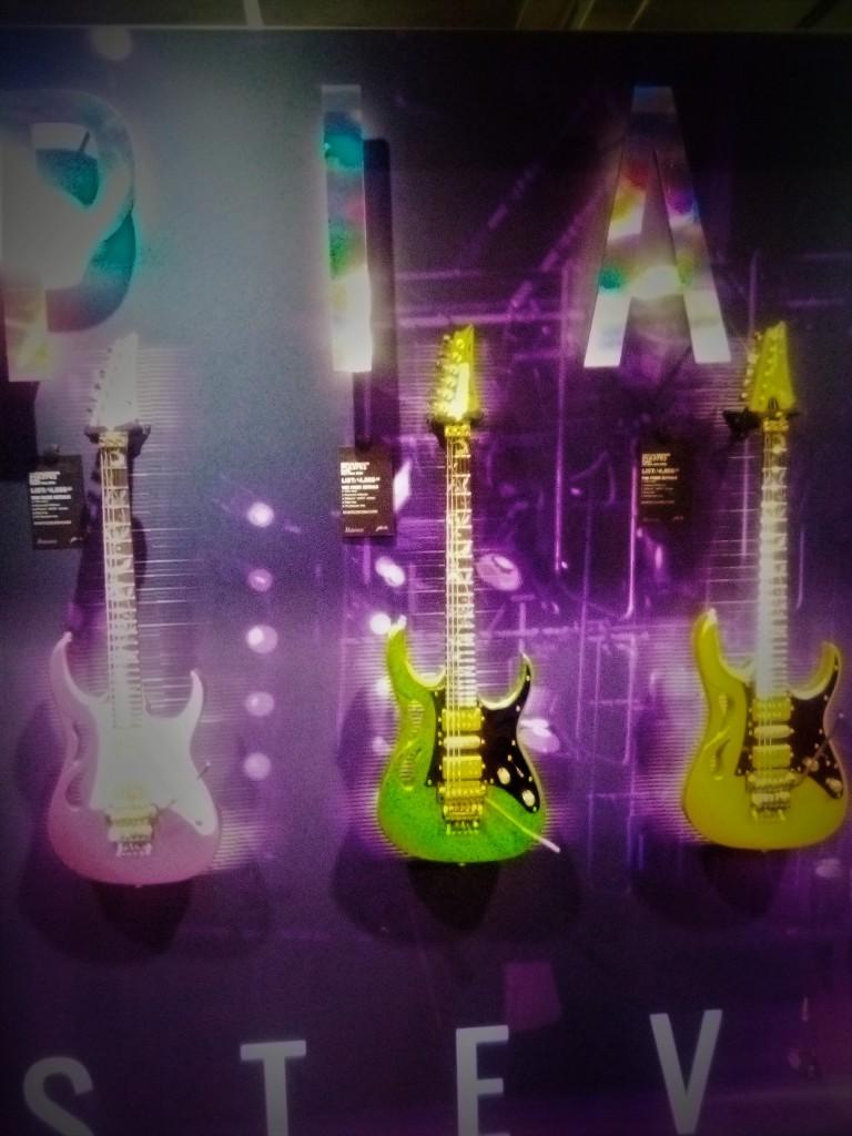 Ah! New Steve Vai PIA guitars!!!