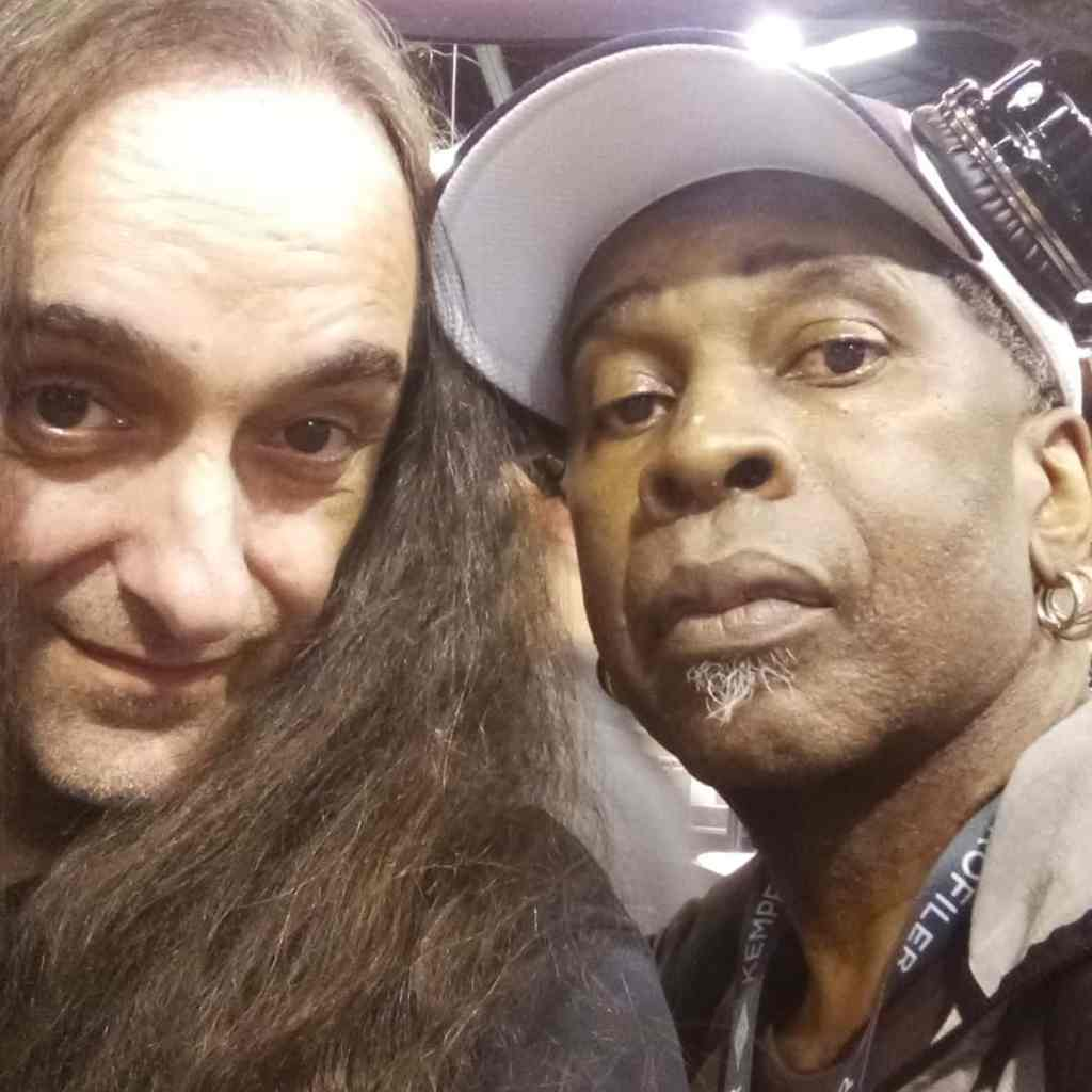 One of my heroes and glad we're good friends for 30 years, Vernon Reid (Living Colour)