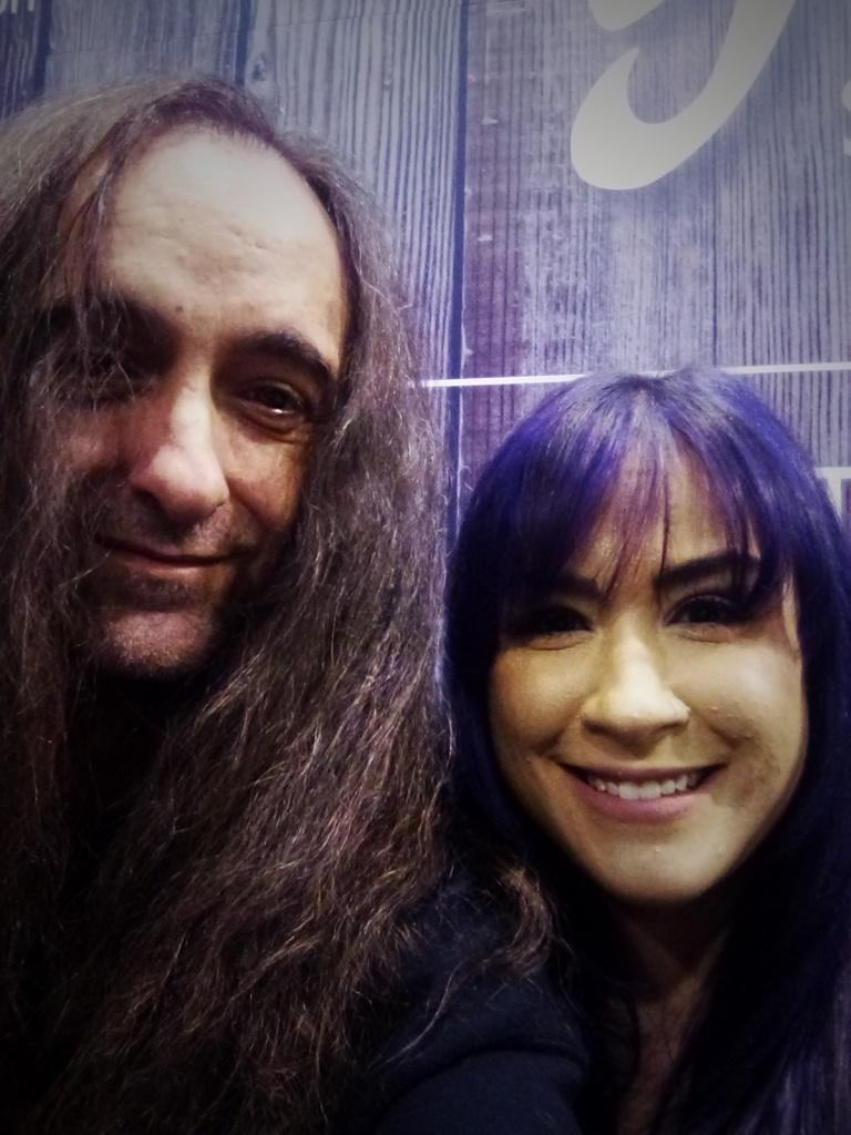Purple sistah Melia!!